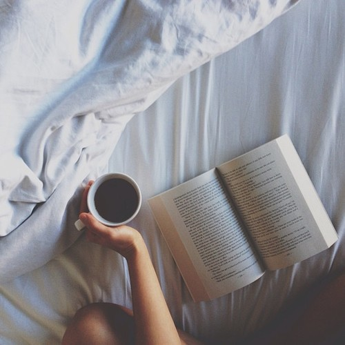 coffe and book
